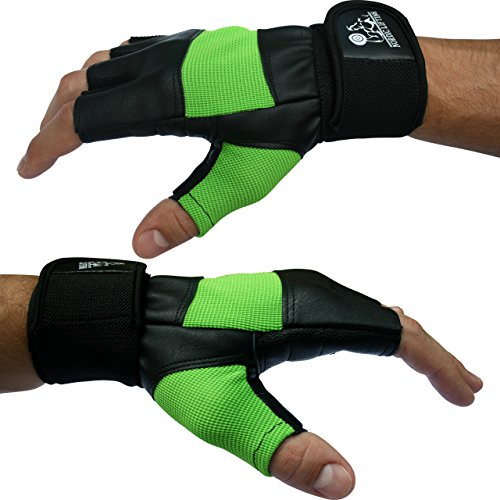 "Xcrossfit Weight Lifting Gloves: Weight Lifting Gloves With 12"" Wrist Support For Gym"