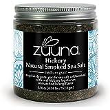 Pure Hickory Sea Salt -Natural Smoked- by ZUUNA® 100% Natural, Pure PREMIUM Gourmet Sea Salt