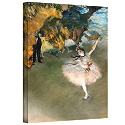 Art Wall \'Prima Ballerina\' Gallery-Wrapped Canvas Artwork by Edgar Degas, 16 by 24-Inch