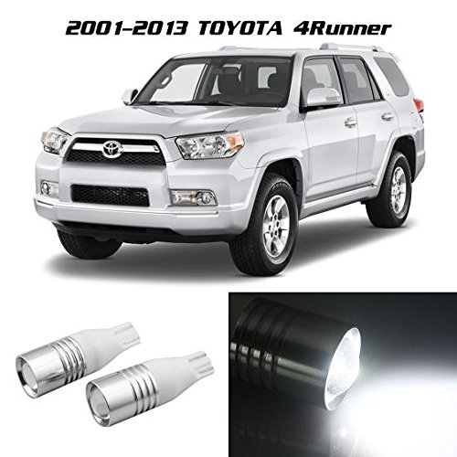 Partsam White T10 921 912 High Power Cree Chip Smd Led Backup Reverse Bulbs For Toyota 4Runner 2001 2002 2003 2004 2005 2006 2007 2008 2009 2010 2011 2012 2013 (Suzuki Samurai Body Plugs compare prices)
