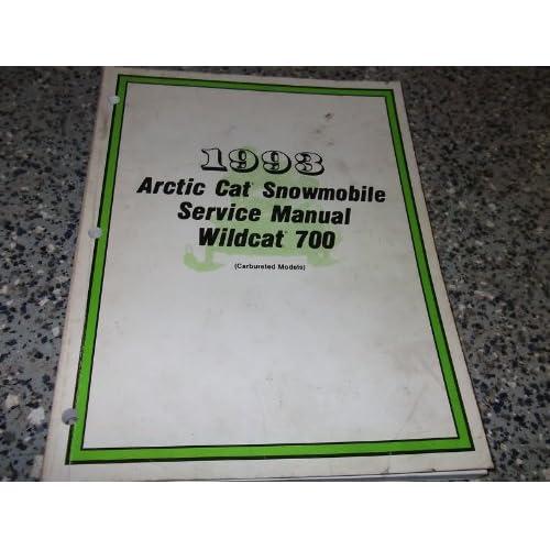 1990 to 1998 arctic cat snowmobiles service repair workshop manual