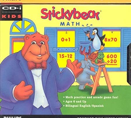 Stickybear Math for Philips CD-i