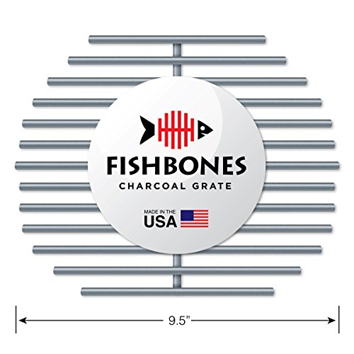 Why Choose Fishbones Charcoal Fire Grate Upgrade for Large Big Green Egg (R)