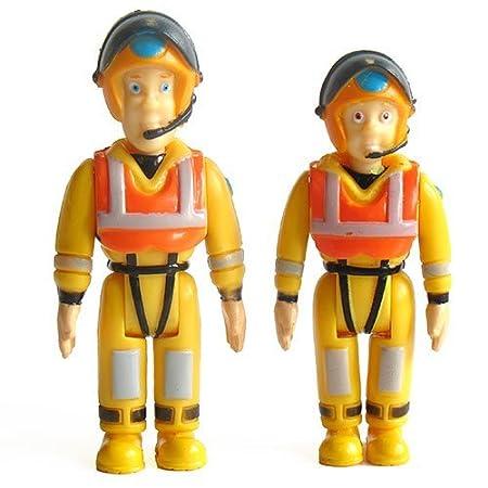 Ouaps - 20114 - Figurine - Sam Sauveteur et Julie Sauveteur