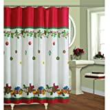 Lorraine your home Fashions Gift Box Shower Curtain, 70 by 72-Inch, Multicolored