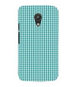 Checks Pattern 3D Hard Polycarbonate Designer Back Case Cover for Motorola Moto G2 X1068 :: Motorola Moto G (2nd Gen)