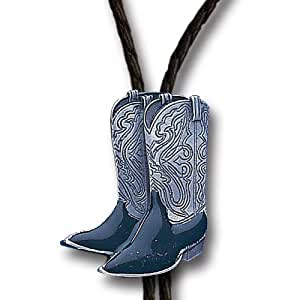Amazon.com: Cowboy Boots Bolo Tie: Sports & Outdoors