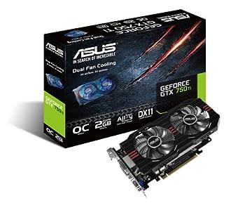 ASUSTeK NVIDIA GTX750Ti搭載 GTX750TI-OC-2GD5