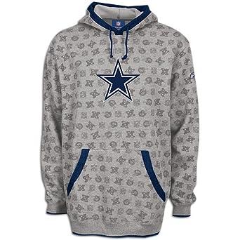Cowboys Reebok Mens NFL Loud & Proud Hoody by Reebok