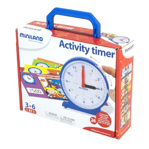 MINILAND EDUCATIONAL CORPORATION ACTIVITY TIMER (Set of 3) sholpan jomartova fundamentals of uml educational manual