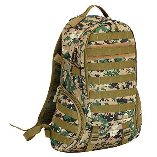 Tactical sac / Voyage / extérieur sac camouflage alpinisme / ordinateur étanche sac à dos-1 40L