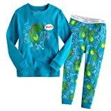 Vaenait Baby Little Boys Sleepwear Pajama Top Bottom 2 pieces Set Little Dinosaur