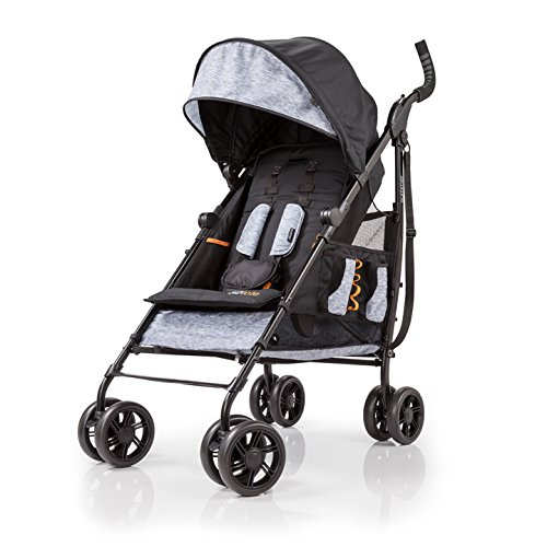 Summer Infant 3Dtote Convenience Stroller, Heather Grey