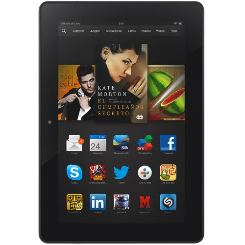 "Kindle Fire HDX 8,9"" (22,6 cm), Pantalla HDX, wifi, 32 GB"