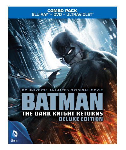 Dcu Batman Dark Knight Returns Blu-ray at Gotham City Store