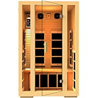 JNH Lifestyles MG215HB 2 Person Far Infrared Sauna 7 Carbon Fiber Heaters - New Open Box