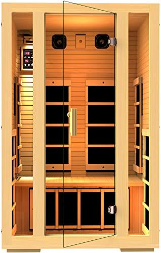 JNH Lifestyles 2-Person Saunas Fiber Heaters