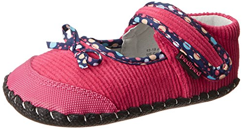 Pediped Originals Becky Crib Shoe (Infant/Toddler),Fuchsia,Small (6-12 Months) front-1075760