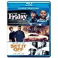 Friday/ Menace Ii Society/ Set It off (3FE) [Blu-ray]