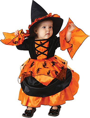 Morris Costumes Little Girls Amelia Witch Costume, 3-6M