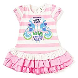 Cucumber Girls Dress - ASV00025_18-24 Months_Pink