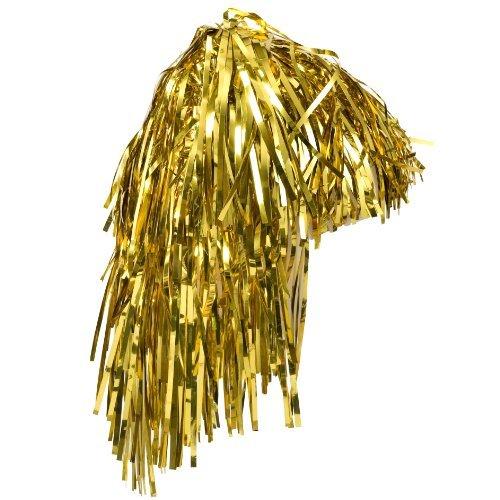 Foil Wig Gold