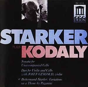 Kodaly - Sonate pour violoncelle seul / Duo pour violon et violoncelle