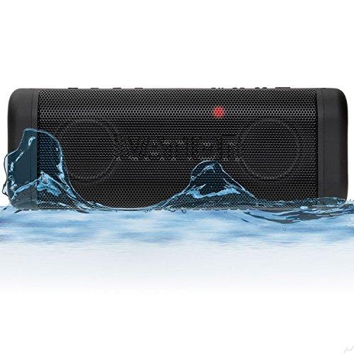 Ivation IVACTXGR Acoustix Wireless Speaker