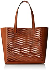 LOEFFLER RANDALL Open Tote Shoulder Bag, Cuoio , One Size