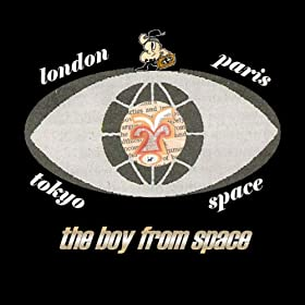London, Paris, Tokyo, Space