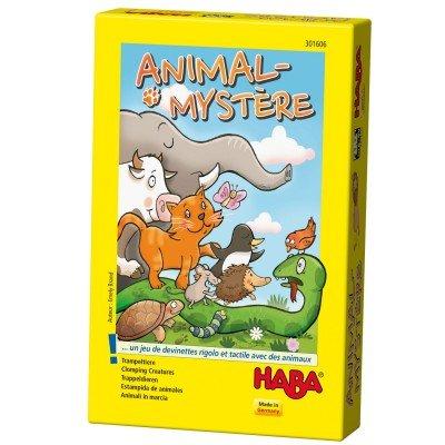 Animal-mystère : un jeu de devinettes rigolo et tactile avec des animaux
