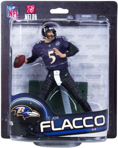 Joe Flacco Baltimore Ravens McFarlane NFL Series 33 CLARKtoys Exclusive