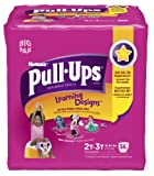 Pull-Ups Learning Design Training Pants, Size 2T-3T, Girl, 56 Count (Pack of 2) - 112 total count