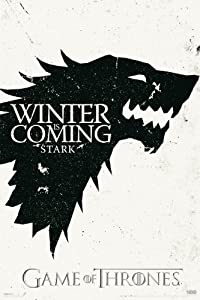 Pyramid Game of Thrones Stark Sigil Wall Poster