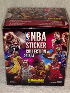 Buy 2013-14 Official Panini NBA Sticker Collection - 50 Sticker Packets Per Box (5 Stickers Per Pack) by Panini