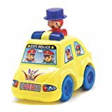 Lovely Toys Push N Go City Police Car Toy For Kids