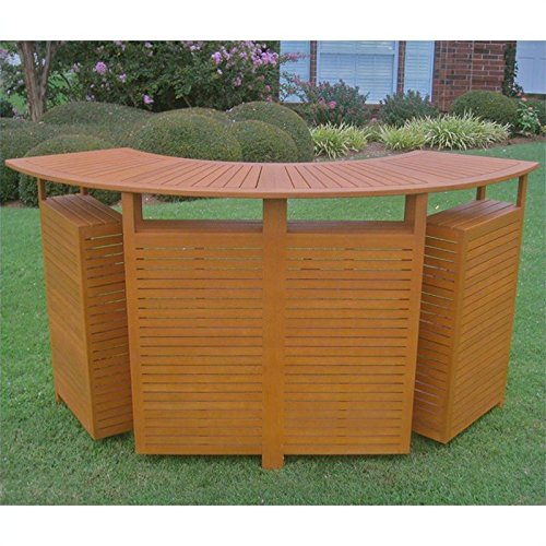 Chatham Outdoor Patio Sectional Folding Bar Table photo
