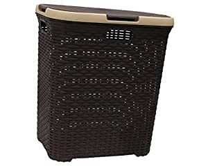 Buy Orchid Plastic Laundry Basket Brown Online At Low