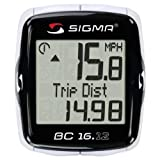 Sigma Sport BC16.12 STS Wireless 16 Function Bicycle Computer Sigma