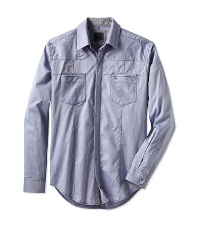 7 Diamonds Men's The Rising Sun Long Sleeve Woven Shirt