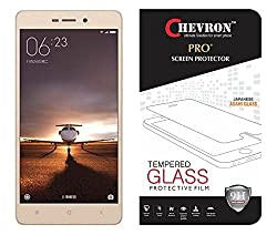Chevron Xiaomi Redmi 3S Prime / Xiaomi Redmi 3S Tempered Glass Screen Protector [Chevron A-Glass 0.33mm With Curved Edges]