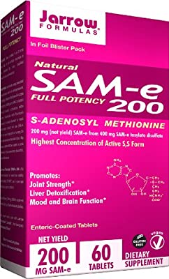 Jarrow Formulas SAM-e 200 mg Tabs