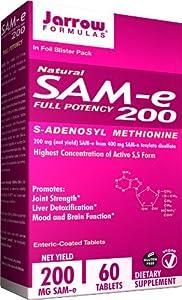 Jarrow Formulas SAM-e, 200 mg, 60 Count