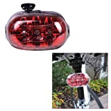 1 - Dorcy 2AA LED Portable Bicycle Tail Light - Red
