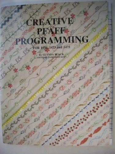Creative Pfaff Programming for 1471, 1473 and 1475 (Pfaff Creative 1473 compare prices)