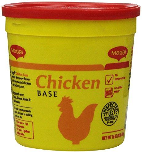 Maggi Chicken Base No Added Msg, 1 Pound