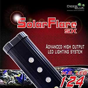 Deep Blue Professional ADB42724 24-Inch Solarflare Single LED Lighting Strips for Aquarium, 12 by 3-Inch