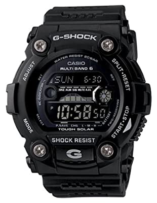 Casio Men's GW7900B-1 G-Shock Black Solar Sport Watch from Casio