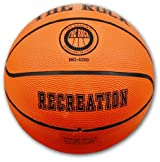 Anaconda Sports® MG-4300-RECR The Rock® Intermediate Size Rubber Recreational Basketball (Orange)
