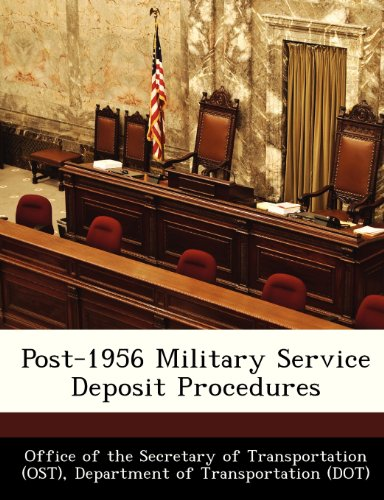Post-1956 Military Service Deposit Procedures